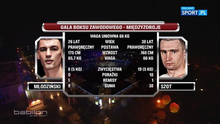 2016-08-20 Kamil Młodziński - Krzysztof Szot. Skrót walki
