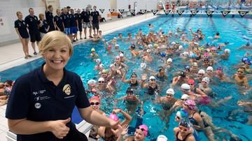 2017-12-14 800 dzieci rywalizować będzie pod okiem Otylii Jędrzejczak w III Mikołajkowej Olimpiadzie Pływackiej w Dębicy