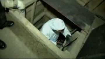 23-10-2015 11:21 Meksykańska policja odkryła tunel do przemytu narkotyków. Znalazła w nim 16 osób i 10 ton marihuany