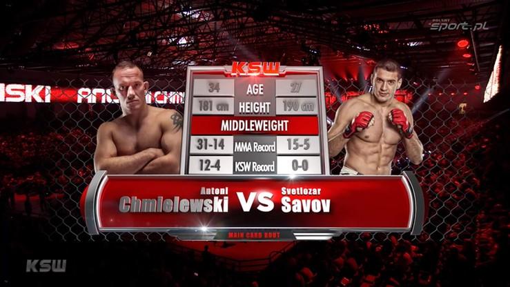 2016-03-05 Antoni Chmielewski - Svetlozar Savov. Skrót walki