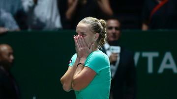 2016-10-26 WTA Finals: Kolejny zwycięski horror Kuzniecowej! Rosjanka blisko awansu