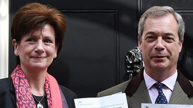 Wielka Brytania: szefowa UKIP złożyła dymisję po 18 dniach