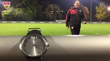 2015-10-29 Piłkarze VfB Stuttgart trenowali o czwartej rano!