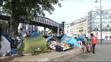 16-09-2016 10:38 Likwidacja kolejnego nielegalnego obozowiska migrantów w Paryżu