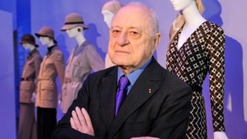08-09-2017 13:15 Zmarł Pierre Berge - współzałożyciel domu mody Yves Saint Laurent