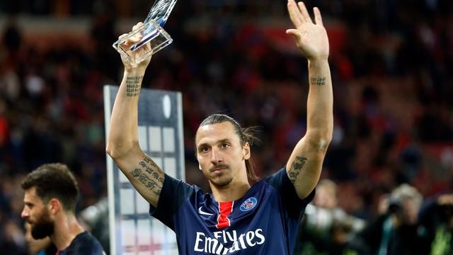Ibra najlepszym strzelcem w historii Paris Saint Germain