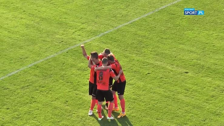 2017-09-11 Puszcza Niepołomice - Chrobry Głogów 0:1. Skrót meczu