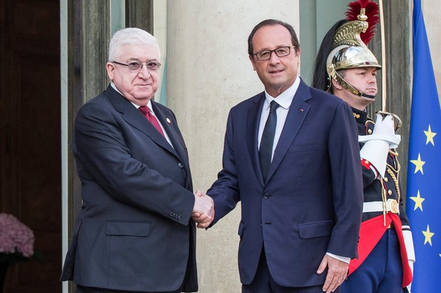 Prezydent Iraku apeluje o naloty