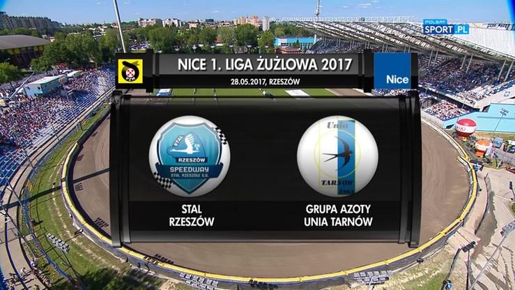 Stal Rzeszów - Grupa Azoty Unia Tarnów 37:53. Skrót meczu