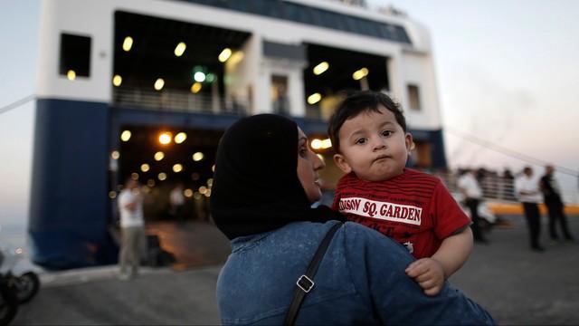 Grecja: statek z syryjskimi uchodźcami odpłynął z wyspy Kos