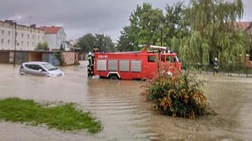W Elblągu wylała rzeka Kumiela. Ogłoszono pogotowie przeciwpowodziowe