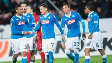 2015-10-22 LE: Zwycięstwa Napoli i Dortmundu, czerwona kartka Jędrzejczyka