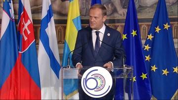 25-03-2017 11:12 Tusk: Wspólne zasady fundamentem jedności europejskiej