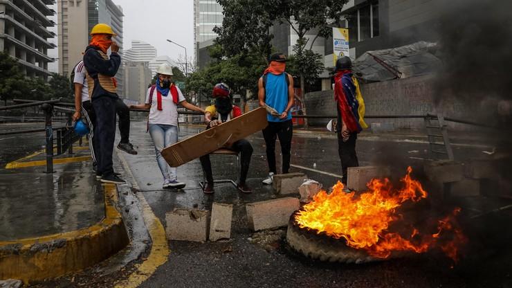 Nawoływał do blokady ulic, grozi mu więzienie. Nie wiadomo, gdzie ukrywa się burmistrz z Caracas