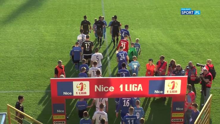 2017-05-18 Miedź Legnica - Stal Mielec 1:2. Skrót meczu