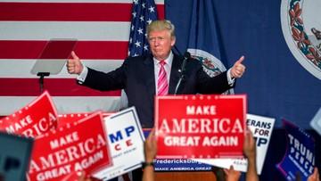 23-08-2016 07:50 Trump chce, by prokurator zbadał fundację Clintonów