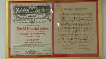 Historia Hymnu Narodowego  zawarta w muzeum