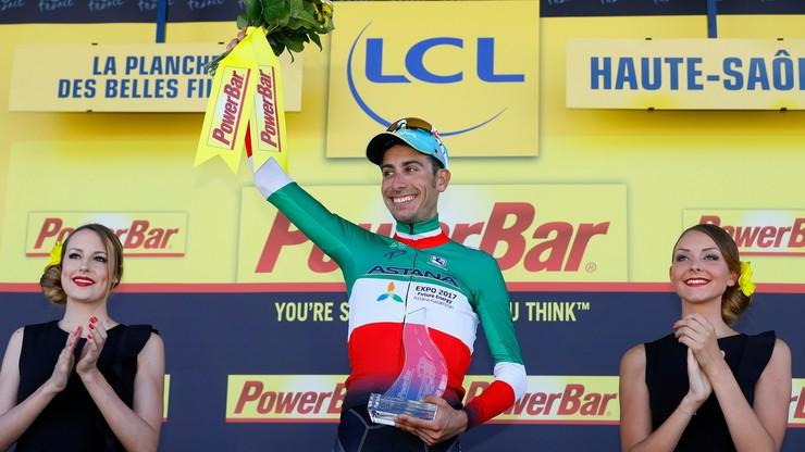 Tour de France: Aru wygrał etap, Froome nowym liderem