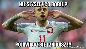 """09-10-2016 08:52 """"Turbo, pojawiasz się i znikasz"""". Memy po meczu Polska - Dania"""