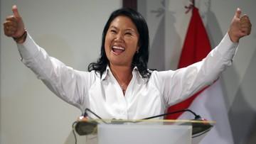 11-04-2016 05:40 Exit polls: Keiko Fujimori wygrała pierwszą turę wyborów prezydenckich w Peru