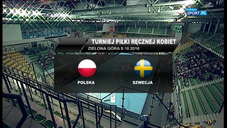 Polska - Szwecja 27:31. Skrót meczu