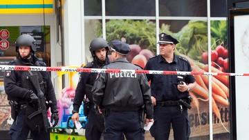 28-07-2017 17:24 Atak nożownika w Hamburgu. Jedna osoba nie żyje