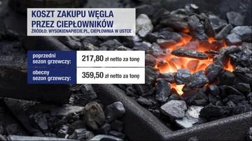 Ceny węgla w górę. Materiał
