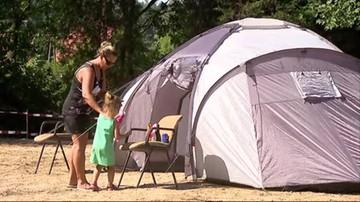 Życie w namiocie