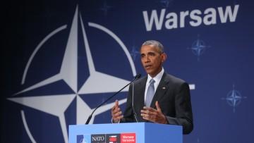 09-07-2016 18:39 Obama: Europa zawsze może liczyć na USA