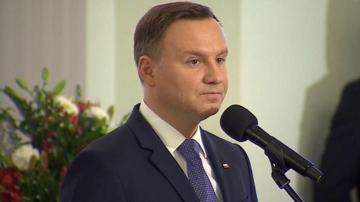 """""""Ich śmierć to niepowetowana strata dla kultury rosyjskiej"""" - prezydent Duda napisał do Putina"""