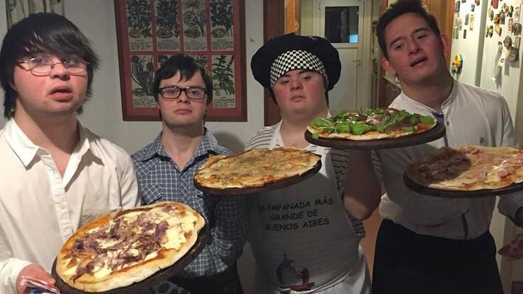 Pizzeria bez barier. Osoby z Zespołem Downa założyły firmę cateringową