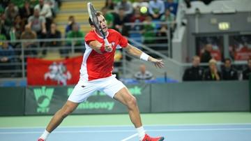 2015-09-23 ATP w Metz: Kubot w ćwierćfinale