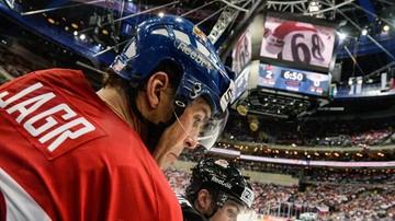 2017-10-12 NHL: Jagr zadebiutował w Calgary Flames