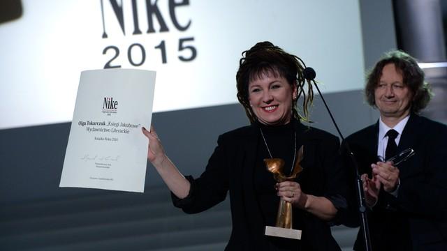 Olga Tokarczuk laureatką Nike