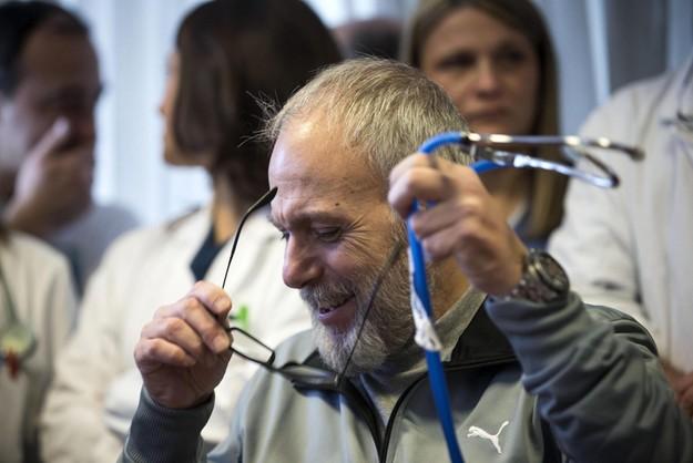 Lekarz wyleczony z eboli opuścił szpital