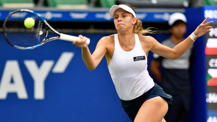 WTA w Tokio: Linette przegrała z Pliskovą w 1/8 finału