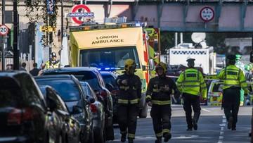 """18-09-2017 10:41 """"The Times"""": zatrzymani po zamachu w Londynie to uchodźcy"""