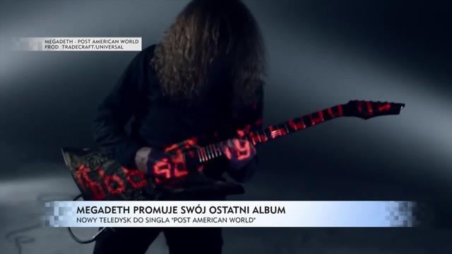 Legenda metalu wciąż w formie - nowy klip Megadeth