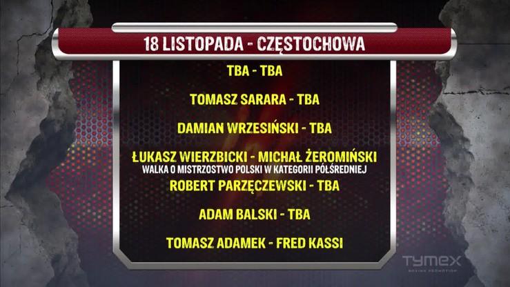 Gala w Częstochowie: Karta walk najmocniejsza w historii Tymex Boxing Promotions?