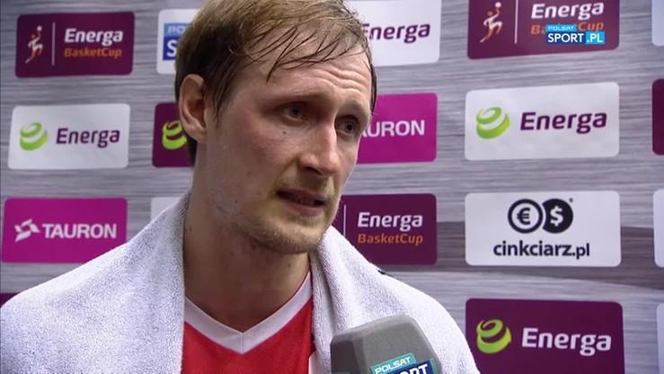Cesnauskis: Wszystkie mecze pokazały, że Toruń jest mocniejszy od nas