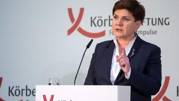 12-02-2016 17:18 Szydło w Berlinie: polska demokracja ma się świetnie