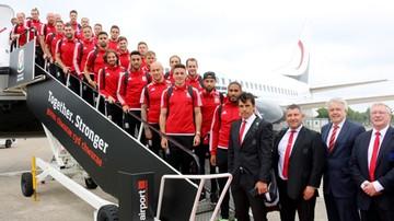 Euro 2016: Tłum kibiców powitał w Cardiff piłkarzy Walii