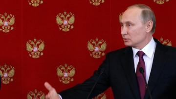 """Putin: w Syrii przygotowywane """"prowokacje"""" z bronią chemiczną"""