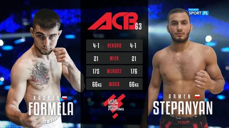 2017-07-01 Kacper Formela - Armen Stepanyan. Skrót walki
