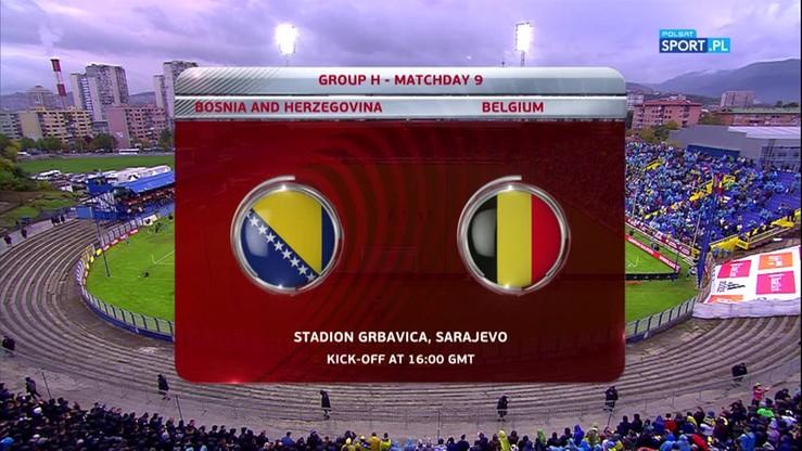 Bośnia i Hercegowina - Belgia 3:4. Skrót meczu