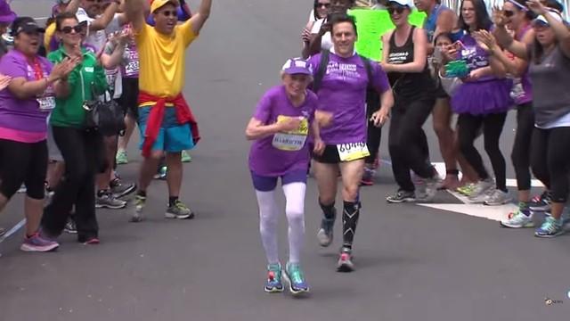 92-letnia Harriette Thompson najstarszą maratonką na świecie