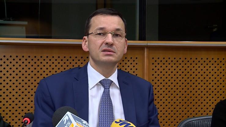 Morawiecki liczy, że w nowym budżecie UE Polska nie dostanie mniej