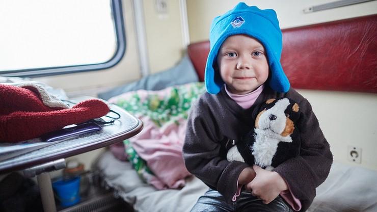 Dzieci rodzin ewakuowanych z Ukrainy w poniedziałek pójdą do polskich szkół