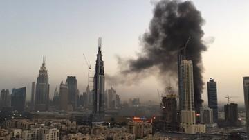 02-04-2017 08:22 Pożar w pobliżu największego centrum handlowego Dubaju