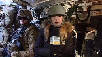 2017-03-28 Kolejna grupa żołnierzy wojsk NATO przyjechała do Polski